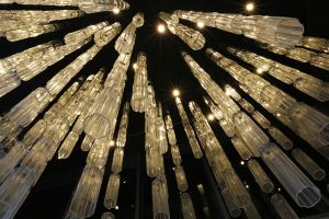 Lines of Light Chandelier