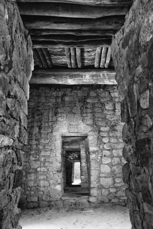Aztec Ruin Doorways